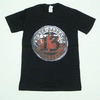 BLACK SABBATH 13 Flame Circle, Tシャツ