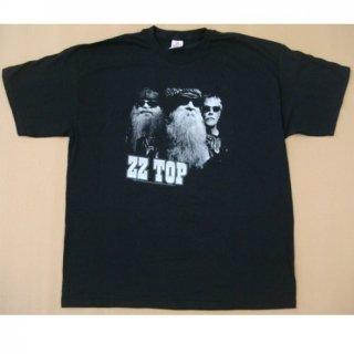 ZZ TOP Black Photo, Tシャツ
