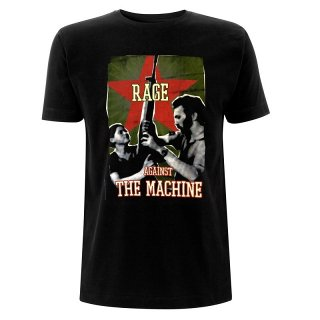 RAGE AGAINST THE MACHINE Gun Star, Tシャツ