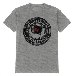 RAGE AGAINST THE MACHINE Bulls Sport Grey, Tシャツ