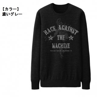 RAGE AGAINST THE MACHINE Battle Charcoal, スウェットシャツ