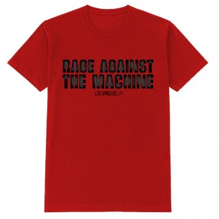 RAGE AGAINST THE MACHINE Smashed Red, Tシャツ