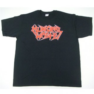 MUNICIPAL WASTE Red Logo, Tシャツ