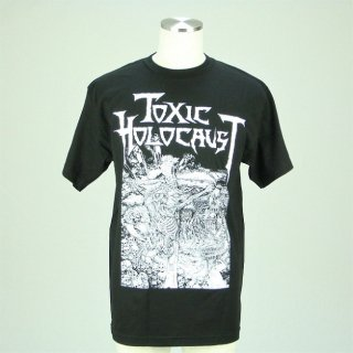 TOXIC HOLOCAUST Nuke The Cross, Tシャツ