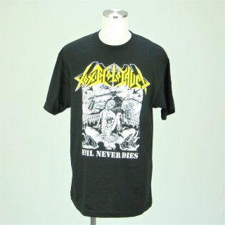 TOXIC HOLOCAUST Evil Never Dies, Tシャツ
