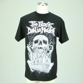 THE BLACK DAHLIA MURDER Black Skull, Tシャツ