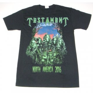 TESTAMENT Severed Heads 2016 Dates, Tシャツ