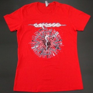 CARCASS Medical Snake Tools, レディースTシャツ<img class='new_mark_img2' src='//img.shop-pro.jp/img/new/icons20.gif' style='border:none;display:inline;margin:0px;padding:0px;width:auto;' />