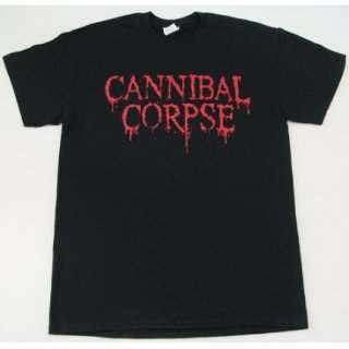 CANNIBAL CORPSE Logo - 2014 Summer TD, Tシャツ