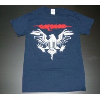 CARCASS Eagle Seal 2014 Tour Navy, Tシャツ