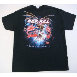 OVERKILL 9-24-15 Chicago, Tシャツ<img class='new_mark_img2' src='//img.shop-pro.jp/img/new/icons20.gif' style='border:none;display:inline;margin:0px;padding:0px;width:auto;' />