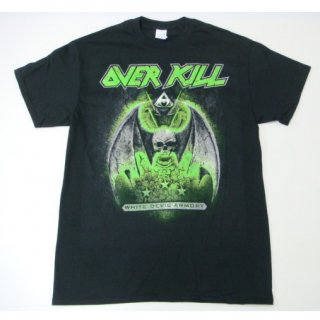 OVERKILL White Devil Armory Dates, Tシャツ<img class='new_mark_img2' src='//img.shop-pro.jp/img/new/icons20.gif' style='border:none;display:inline;margin:0px;padding:0px;width:auto;' />