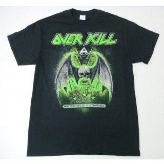 OVERKILL White Devil Armory Dates, Tシャツ