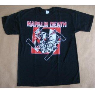 NAPALM DEATH Nazi Punks Fuck Off, Tシャツ