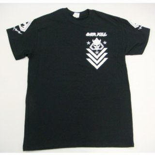 OVERKILL Black and White TD, Tシャツ
