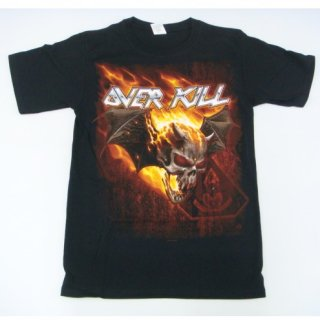 OVERKILL Bat Skull Of Fire, Tシャツ