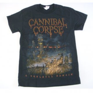 CANNIBAL CORPSE Skeletons Tree, Tシャツ