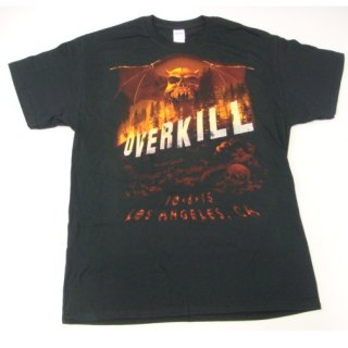 OVERKILL 10-6-15 Los Angeles, Tシャツ