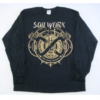 SOILWORK The Living Infinite TD, ロングTシャツ