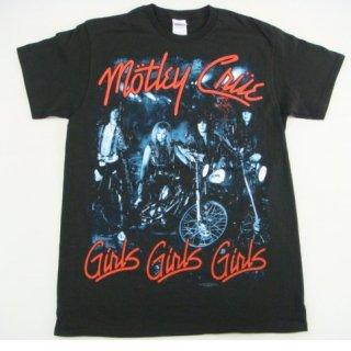 MOTLEY CRUE Girls Girls Girls, Tシャツ