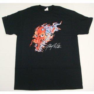JOHNNY WINTER Dragon Tattoo, Tシャツ