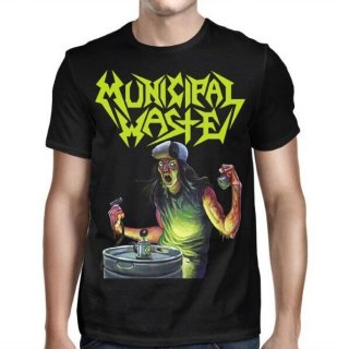 MUNICIPAL WASTE Art Of Partying- MW Logo, Tシャツ