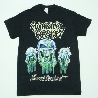 MUNICIPAL WASTE Slime And Punishment/Black, Tシャツ
