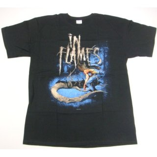 IN FLAMES Owl Boy Back, Tシャツ