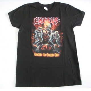 EXODUS Blood In Blood Out, レディースTシャツ<img class='new_mark_img2' src='//img.shop-pro.jp/img/new/icons20.gif' style='border:none;display:inline;margin:0px;padding:0px;width:auto;' />