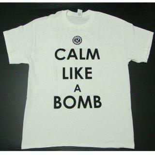 RAGE AGAINST THE MACHINE Calm Like A Bomb White, Tシャツ