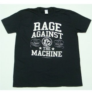 RAGE AGAINST THE MACHINE Crown College, Tシャツ