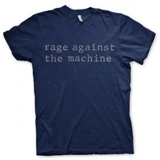 RAGE AGAINST THE MACHINE Original Logo Navy, Tシャツ
