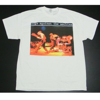RAGE AGAINST THE MACHINE Anger Gift White, Tシャツ