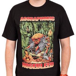 AGORAPHOBIC NOSEBLEED Predacrab, Tシャツ