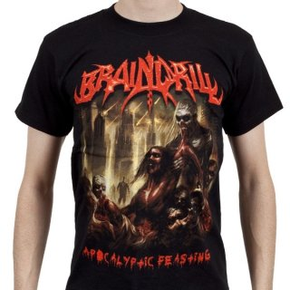 BRAIN DRILL Apocalyptic Feasting, Tシャツ