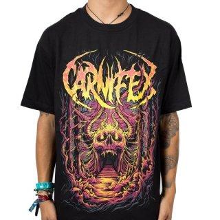 CARNIFEX Skull Cave, Tシャツ
