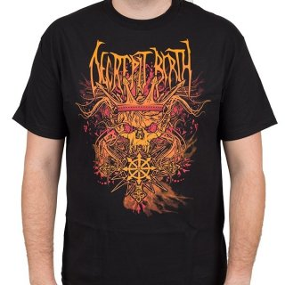 DECREPIT BIRTH Skull King, Tシャツ