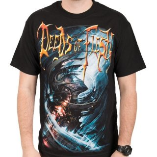 DEEDS OF FLESH Portals LP Cover, Tシャツ
