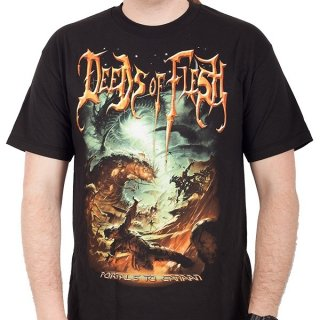 DEEDS OF FLESH Portals To Canaan, Tシャツ