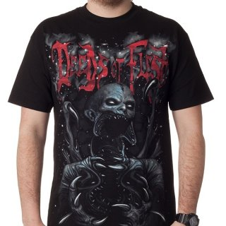 DEEDS OF FLESH From Darkness to Madness, Tシャツ