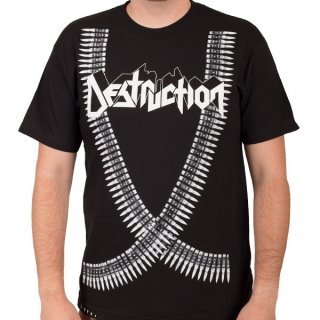 DESTRUCTION Bullet Belt, Tシャツ