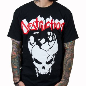 DESTRUCTION Cracked Skull, Tシャツ