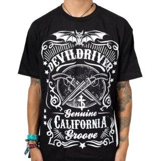 DEVILDRIVER Sawed Off, Tシャツ