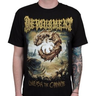 DEVOURMENT Unleash the Carnivore, Tシャツ