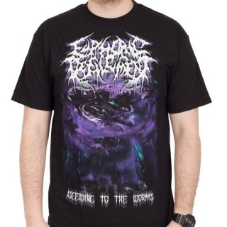 EUPHORIC DEFILEMENT Ascending To The Worms, Tシャツ