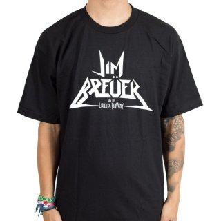 JIM BREUER AND THE LOUD & ROWDY Logo, Tシャツ