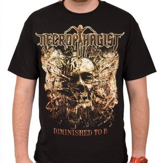 NECROPHAGIST Diminished To B, Tシャツ