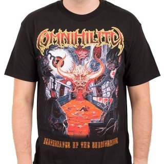 OMNIHILITY Deathscapes of the Subconscious, Tシャツ