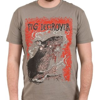 PIG DESTROYER Rats, Tシャツ