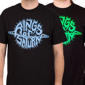 RINGS OF SATURN Glow Logo, Tシャツ